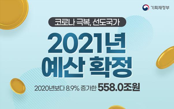 2021년 예산 확정